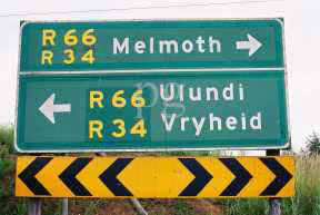 Melmoth Ulundi Vryheid sign.jpg (9756 bytes)